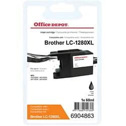 Office Depot Compatible Brother LC1280XL-BK Ink Cartridge Black