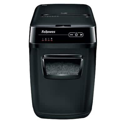 Fellowes AutoMax 200C Cross-Cut Shredder Security Level P-4 200 Automatic & 10 Manual Sheets