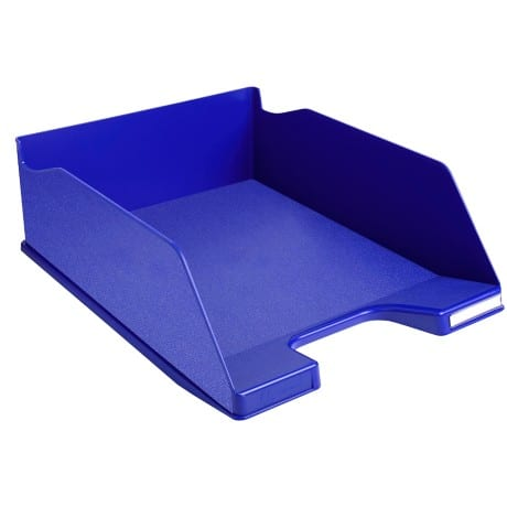 Exacompta Combo 2 Maxi letter tray in blue