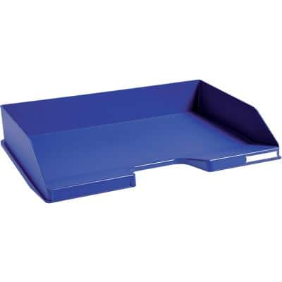 Exacompta Letter Tray Midnight Blue Polypropylene Midnight Blue 36.5 x 25.5 x 6.5 cm