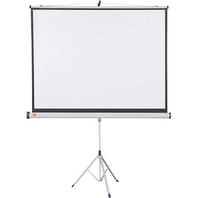 Nobo Projector Screen Tripod White 150 x 100 cm