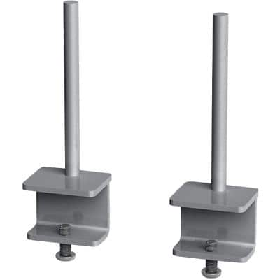 Dams International Fabric Screen Brackets AFSBK-S Aluminium Silver
