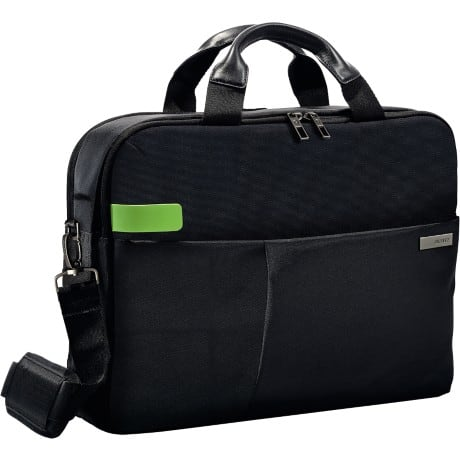 "Leitz  Smart Traveller 15.6"" Laptop Bag, Black"