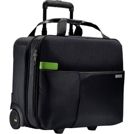 Leitz  Smart Traveller Carry-On Cabin  Size Trolley, Black