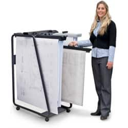 Hang-A-Plan General Filing Trolley 550 W x 800 D x 1335 H mm