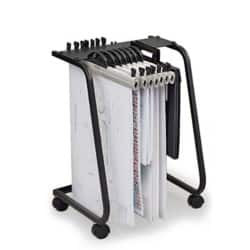 Hang-A-Plan General Filing Trolley 435 W x 410 D x 650 H mm