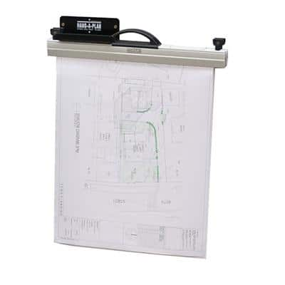 Arnos Binder Rack System Wall Mounted Black