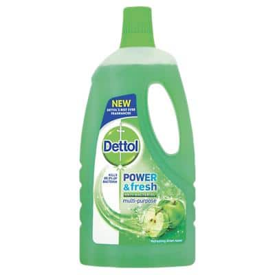 Dettol Power & Fresh Multi-Purpose Cleaner Antibacterial Apple 1L