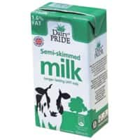 Dairy PRIDE Semi-Skimmed Milk Long Lasting 500ml Pack of 12
