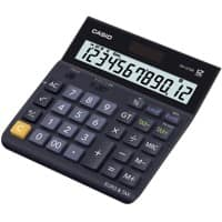 Casio Landscape Desktop Calculator DH-12TER 12 Digit Display Dark Blue