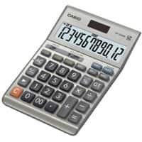 Casio Desktop Calculator DF-120BM 12 Digit Display Silver