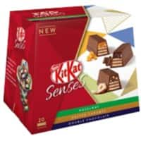 Nestlé KITKAT Senses Sharing Bag Double Chocolate and Salted Caramel 200g