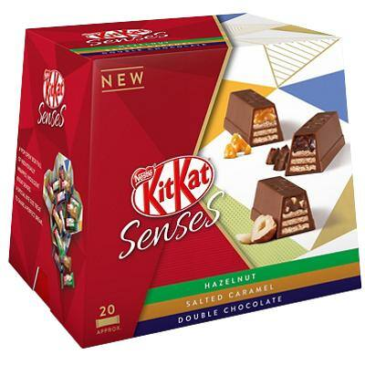 Nestlé Chocolate Kit Kat Senses Selection Sharing Bag 200 g