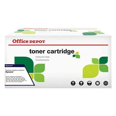 Compatible Office Depot Kyocera TK-580Y Toner Cartridge Yellow