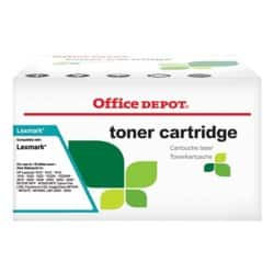 Office Depot Compatible Lexmark C540H2CG Toner Cartridge Cyan