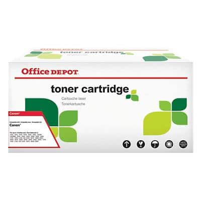 Compatible Office Depot Canon 718BK Toner Cartridge Black