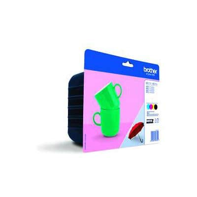 Brother LC-227XL Original Ink Cartridge Black & 3 Colours Pack of 4