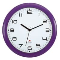 Alba Analog Wall Clock HORNEW P 30 x 5.5cm Prune