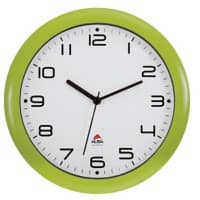 Alba Analog Wall Clock HORNEW V 30 x 5.5cm Green