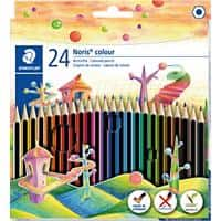 Staedtler Noris Colouring Pencils Pack of 24
