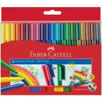 Faber-Castell Felt Tip Pens 155520 3 mm Assorted 20 Pieces