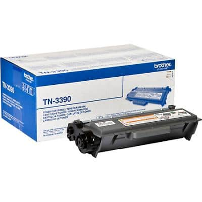 Brother TN-3390 Original Toner Cartridge Black Pack of 2