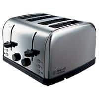 Russell Hobbs Toaster 4 Slices Futura Silver