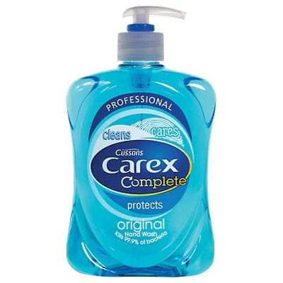 Carex Liquid Hand Soap Antibacterial (Without Pump Mechanism) 500ml