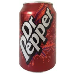 Dr Pepper – 330 ml cans (pack of 24)
