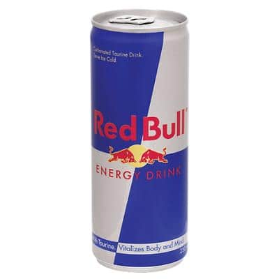 Red Bull Energy Drink Can 250ml Pack of 24