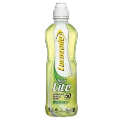 Lucozade Sport Lite lemon and lime – 500 ml bottle (pack of 12)