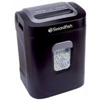 Swordfish 1200XXCD Micro-Cut Shredder Security Level P-4 12 Sheets