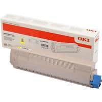 OKI 46471101 Original Toner Cartridge Yellow