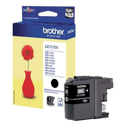Brother LC121BK Original Ink Cartridge Black