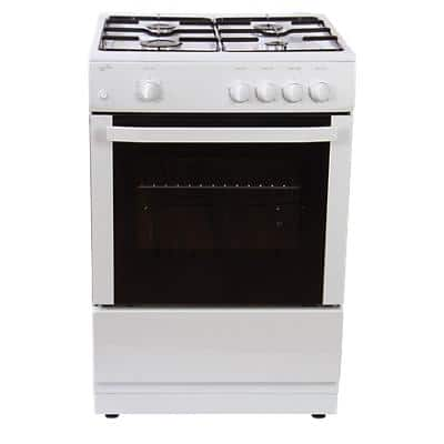 Statesman Gas Cooker Single Cavity MAXI60GSF 2200W White