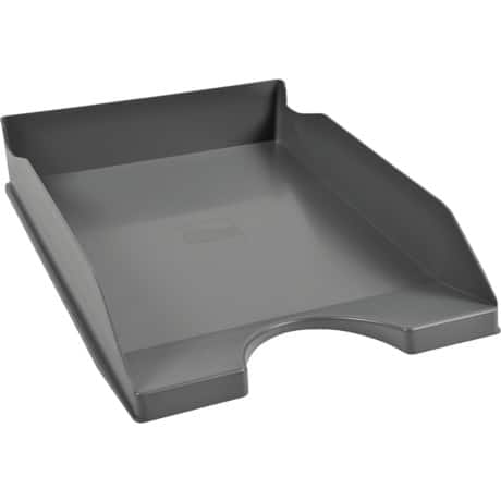 Office Depot letter tray dark grey