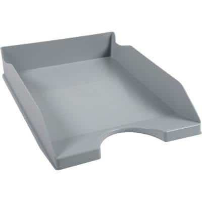 Office Depot Letter Tray Grey 25.5 x 34.8 x 6.5 cm