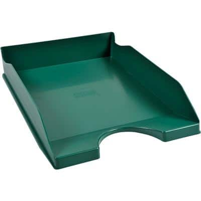 Office Depot Letter Tray Green 25.5 x 34.8 x 6.5 cm