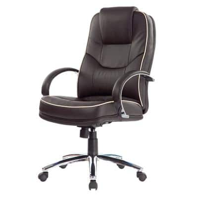Realspace Executive Chair Rome2 Basic Tilt Brown