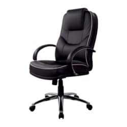 Realspace Executive Chair Rome basic tilt Black