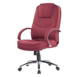 Realspace Executive Chair Rome2 basic tilt Red