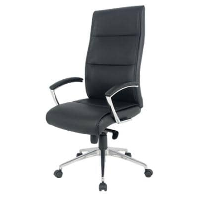 Realspace Executive Chair Lima Bonded leather Black