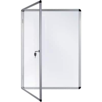 Bi-Office Display Case White 50 x 67.4 cm