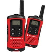 Motorola Two Way Radio TLKR T40 Black, Red