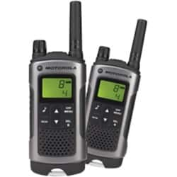 Motorola TLKR T80 two way radio twin pack