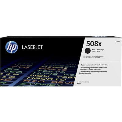 HP 508X Original Toner Cartridge CF360X Black