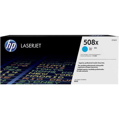 HP 508X Original Toner Cartridge CF361X Cyan