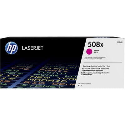 HP 508X Original Toner Cartridge CF363X Magenta