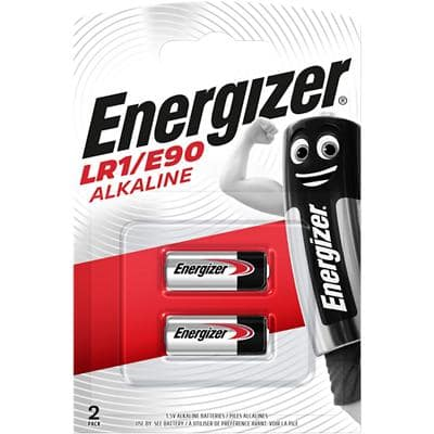 Energizer Batteries LR1 1.5V Alkaline Pack of 2