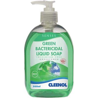 Cleenol Liquid Hand Soap Green Bactericidal 500ml